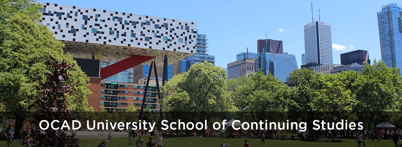 Photo of OCAD University from Grange Park